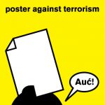 poster against terrorizm